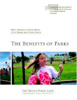 The Benefits of Parks: Why America Needs More City Parks and Open Space pdf