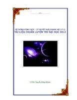 HỆ THỐNG CÔNG THỨC - LÝ THUYẾT GIẢI NHANH VẬT LÝ 12 - TÀI LIỆU CHUẨN LUYỆN THI ĐẠI HỌC 2012 pot