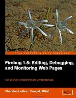 firebug 1.5 editing debugging and monitoring web pages