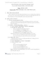 Chuyên đề tiếng Anh ôn thi đại học