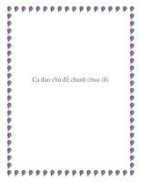 Những bài ca dao chọn lọc: chủ đề chanh chua doc