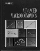 advanced macroeconomics by david romer 1996 edition (550 pages)