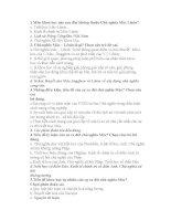 70 CÂU HỎI VÀ ĐÁP ÁN TRẮC NGHIỆM TRIẾT HỌC