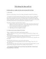 Giáo án Bài giảng về: Đề cương và bài giảng môn tư tưởng Hồ Chí Minh