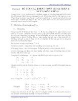 giáo trình phương pháp số