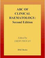 abc of clinical haematology