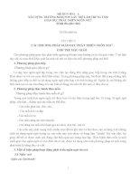CÁC PHƯƠNG PHÁP GIÁO DỤC PHÁT TRIỂN NGÔN NGỮ  CHO TRẺ MẪU GIÁO