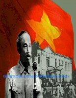 Đề tài: Phân tích các chuẩn mực đạo đức mới theo tư tưởng Hồ Chí Minh. Vận dụng vào việc xây dựng và lối sống cho sinh viên hiện nay