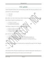 Tổng hợp đề thi Tài chính công đề thi cuối kỳ tài chính công (giống 100%)