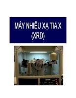 Tìm hiểu về máy nhiễu xạ tia X