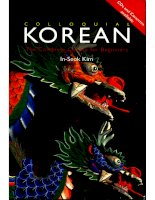 colloquial korean the complete course for beginners