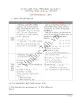 HƯỚNG DẪN ÔN TẬP MÔN HÓA HỌC LỚP 12 CHƯƠNG TRÌNH CƠ BẢN HỌC KÌ I doc