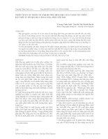 PHÂN TÍCH CÁC NHÂN TỐ ẢNH HƯỞNG ĐẾN HIỆU QUẢ CANH TÁC TRÊN ĐẤT DỐC Ở HUYỆN MÙ CĂNG CHẢI, TỈNH YÊN BÁI pdf