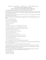 MẪU YÊU CẦU KỸ THUẬT MÁY THÔNG TIN LIÊN LẠC SÓNG HF TẦM XA CÓ TÍCH HỢP THIẾT BỊ ĐỊNH VỊ VỆ TINH (GPS) pdf