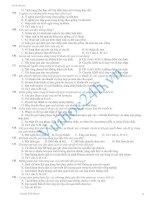 360 câu hỏi trắc nghiệm môn sinh phần 2 pdf
