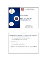 Bài giảng Kỹ nghệ máy tính: Chương 3 - Nguyễn Văn Thọ