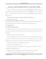 Chương 4 hàng hóa công và chi tiêu công