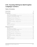 Teaching Writing to Adult English Language Learners doc