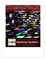 Youtube Ranking System tăng thứ hạng kiếm tiền Youtube Adsense
