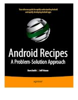 Android recipes  a problem solution approach (2011, smith dave)