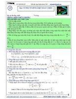 Luyện thi đại học môn vật lý chuyên đề dòng điện xoay chiều