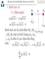 Động lực học hệ chất điểm, động lực học vật rắn