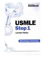 kaplan medical step 1 microbiology - immunology