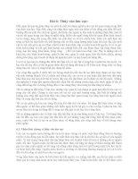 Quản lý lưu vực  - (bài 6) Thủy văn lưu vực