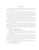Luận văn Hoàn thiện công tác đào tạo nguồn nhân lực tại viễn thông Lạng sơn