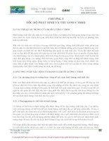 CÔNG TY MÔI TRƯỜNG TẦM NHÌN XANH CHƯƠNG 3 TỐC ĐỘ PHÁT SINH VÀ THU GOM CHẤT THẢI RẮN SINH HOẠT