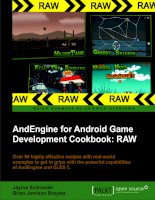 And Engine for android game development cookbook  RAW