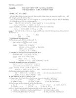 Bài tập hoá học định tính lớp 9