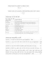 Thực trạng hoạt động bảo lãnh tại Ngân hàng Nông nghiệp và Phát triển Nông thôn Việt Nam – Chi nhánh 9