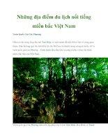 Những địa điểm du lịch nổi tiếng miền bắc Việt Nam pptx