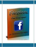 Facebook fanpage magic - Hướng dẫn tối ưu và phát triển fanpage Facebook Marketing hiệu quả