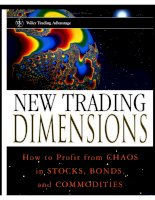 new trading dimensions - how to profit from chaos in stocks, bonds, and commodities - bill williams