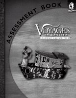 voyages in english - writing and grammar - assessment book 4