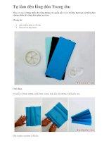 Tự làm đèn lồng đón Trung thu pdf