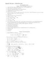 Đề cương ôn tập hóa học 9 học kỳ II dành cho học sinh khá giỏi