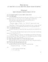Tài liệu môn Tấm và Vỏ Chương 4 một số khái niệm cơ bản về vỏ