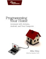 programming your home automate with arduino  android and your computer