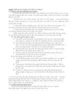 ĐỀ CƯƠNG ÔN THI MÔN HỌC NHỮNG NGUYÊN LÝ CƠ BẢN CHỦ NGHĨA MÁC LÊNIN