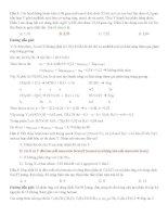 bài tập chọn lọc dẫn xuất halogen  ancol  phenol