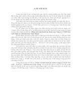 Phân tích tình hình tài chính của Công ty TNHH Sản xuất Dịch vụ Thương mại Tuấn Hùng