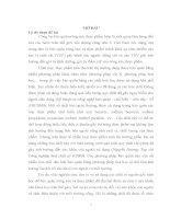 NGHIÊN CỨU CHỌN CHỦNG VI KHUẨN LACTIC ĐỂ SẢN XUẤT AXÍT PHENYLLACTIC  ỨNG DỤNG TRONG BẢO QUẢN NÔNG SẢN VÀ THỰC PHẨM     LUẬN VĂN THẠC SĨ KHOA HỌC SINH HỌC