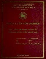 Đầu tư mạo hiểm trên thế giới và triển vọng tại Việt Nam