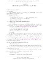 BÁO CÁO ĐÁNH GIÁ TÁC ĐỘNG MÔI TRƯỜNG DỰ ÁN XÂY DỰNG KHU XỬ LÝ CHẤT THẢI RẮN HUYỆN CAN LỘC GIAI ĐOẠN 1