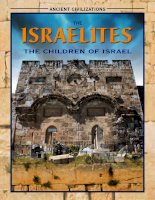 the israelites the children of israel (ancient civilizations)