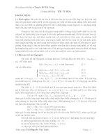 Bài giảng môn học chuyên đề thi công
