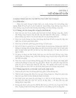 Thiết kế yếu tố hình học đường ôto - Chương 3: THIẾT KẾ BÌNH ĐỒ TUYẾN
